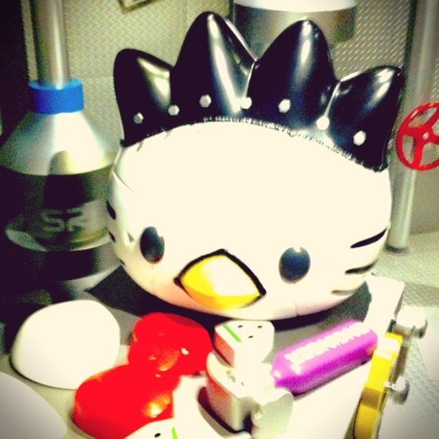 與黑色企鵝XO合體中~我覺得這個超級可愛的