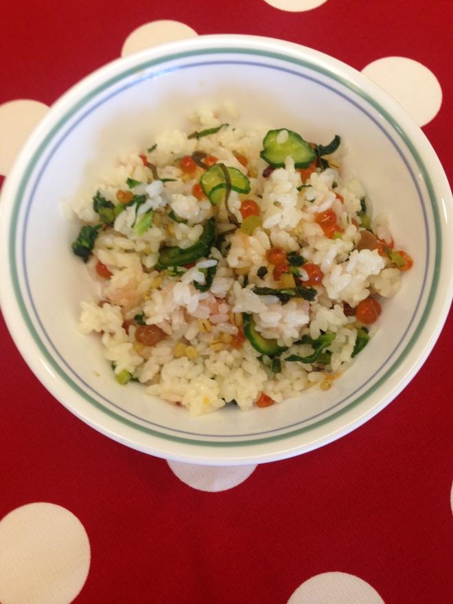 Lasharlote鮭魚卵扮飯3
