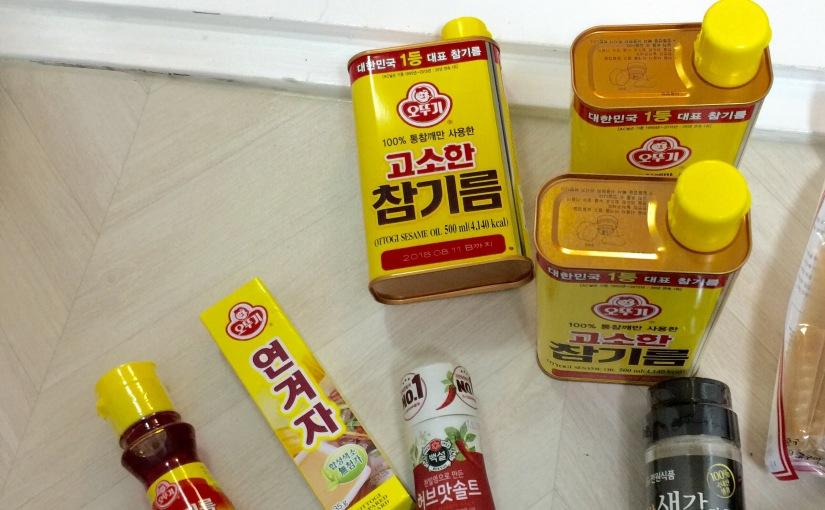 {food} 愛做菜的人去韓國首爾必買 韓國麻油 香噴噴又好用