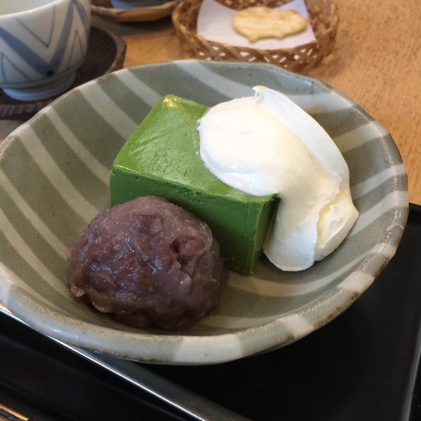 {travel}日本 飯田橋 神樂坂 充滿餐廳的一個歡樂的東京小巴黎- 紀の善傳統日式抹茶甜點店